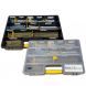 Construction Fixings Multi Kit - Concrete Screws, Anchor Hex Bolts & Torx Bits - Assorted Stanley Compartment Box