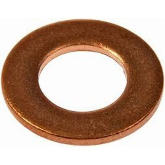 M6 - Flat Washer REF 2406 - Copper - Pack of 25