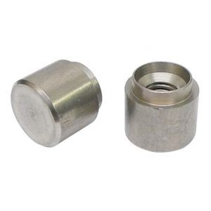 M6 x 14G - Rivet Bush Round Tank Pattern - BZP - Pack of 25