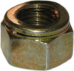 2BA - Metal Self Locking Nut Philidas Industrial Nut - BZP - Pack of 25