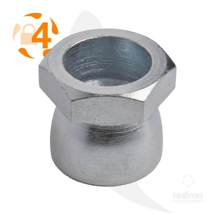 M6 - Shear Nut - BZP - Pack of 100