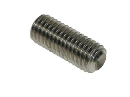 M2 x 3mm - Socket Set Screw Plain Cup Point (PCP) DIN 916 - A2 Stainless Steel - Pack of 100