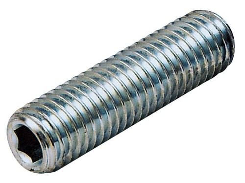 M4 x 12mm - Socket Set Screw Plain Cup Point (PCP) Grade 14.9 - BZP - Pack of 25