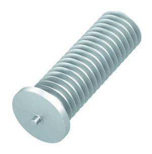 M3 x 10mm - Weld Studs CD Threaded - Aluminium Alloy - Pack of 25