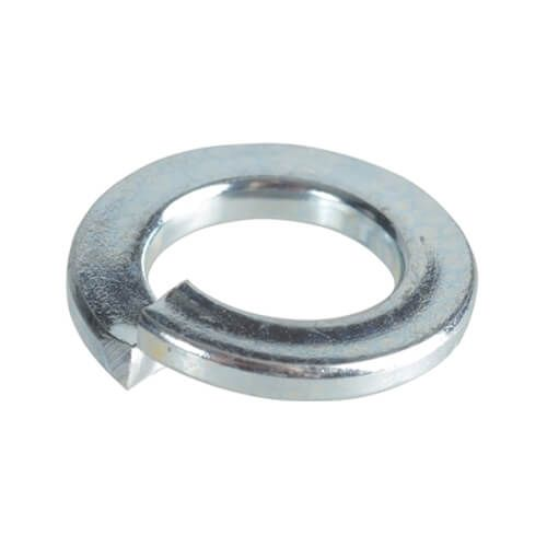 M2.5 - Spring Washer Rectangular Section Type B - BZP - Pack of 500