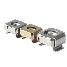 M6 - Cage Nut Panel Range 1.7mm-2.6mm - A2 Stainless Steel - Pack of 5