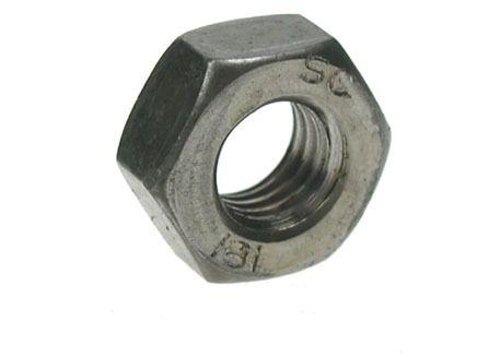 M2 - Full Nut Hexagon Grade 8 DIN 934 - Self Colour - Pack of 1000