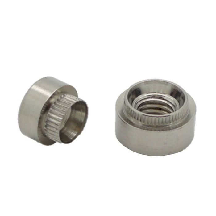 M3 x 10G - Hank Rivet Bush Round Pattern - A2 Stainless Steel - Pack of 25