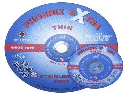 75mm x 1.0mm x 10mm - Steel Cutting Wheels Flat Centre