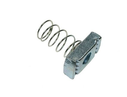 M6 - Spring Back Nut Long Spring - A2 Stainless Steel - Pack of 5