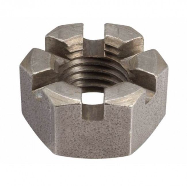 M12 - Slotted Nut - A2 Stainless Steel