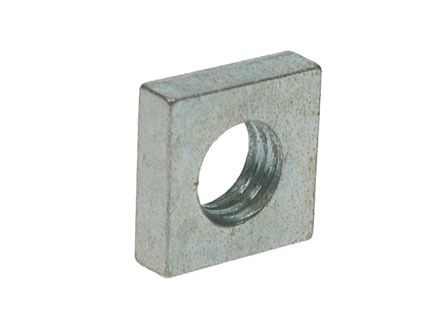 M4 - Square Roofing Nut DIN 562 - BZP - Pack of 50