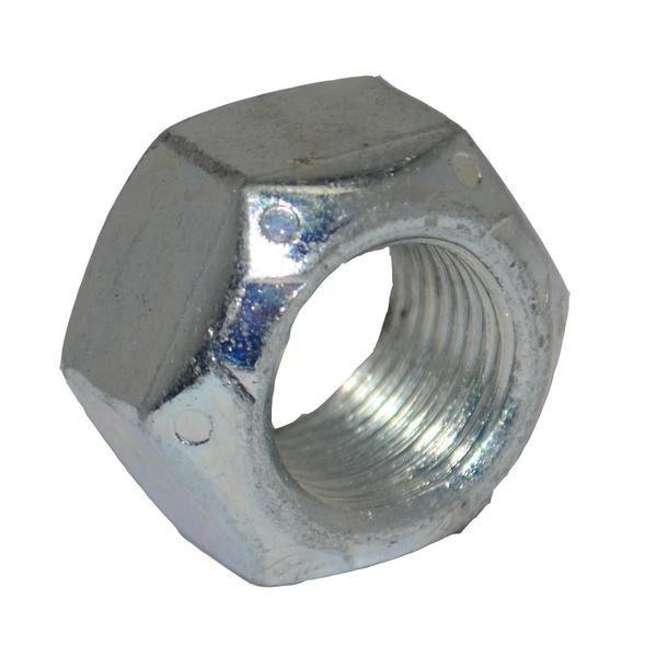M10 - Metal Self Locking Nut Stover Nut Grade 10 - BZP - Pack of 10