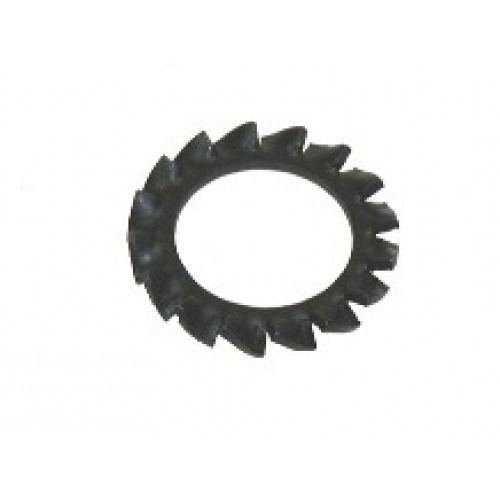 M4 - Serrated Shakeproof Washer External Type A DIN 6798 - Self Colour - Pack of 1000