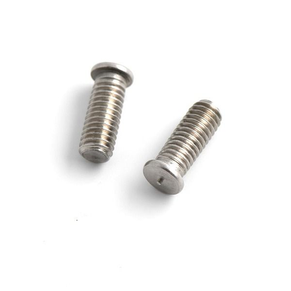 M4 x 8mm - Weld Studs CD Threaded - A2 Stainless Steel - Pack of 1000