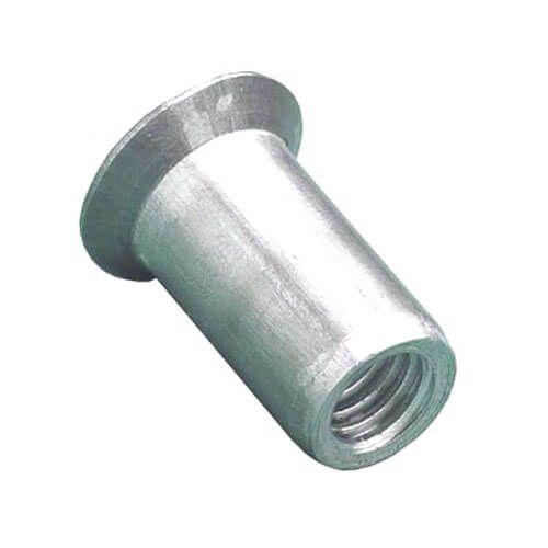 M5 - Blind Rivet Nut Countersunk - Steel BZP - Pack of 25