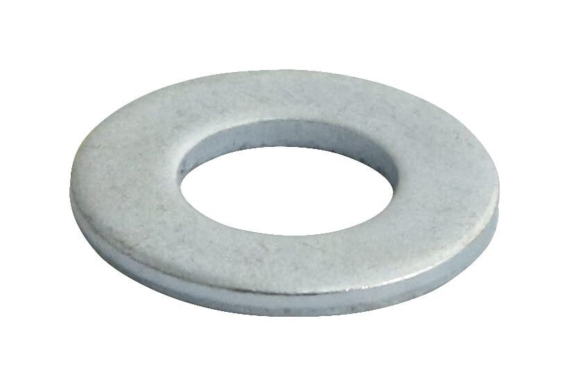 M22 - Flat Washer Form A DIN 125A - BZP - Pack of 50