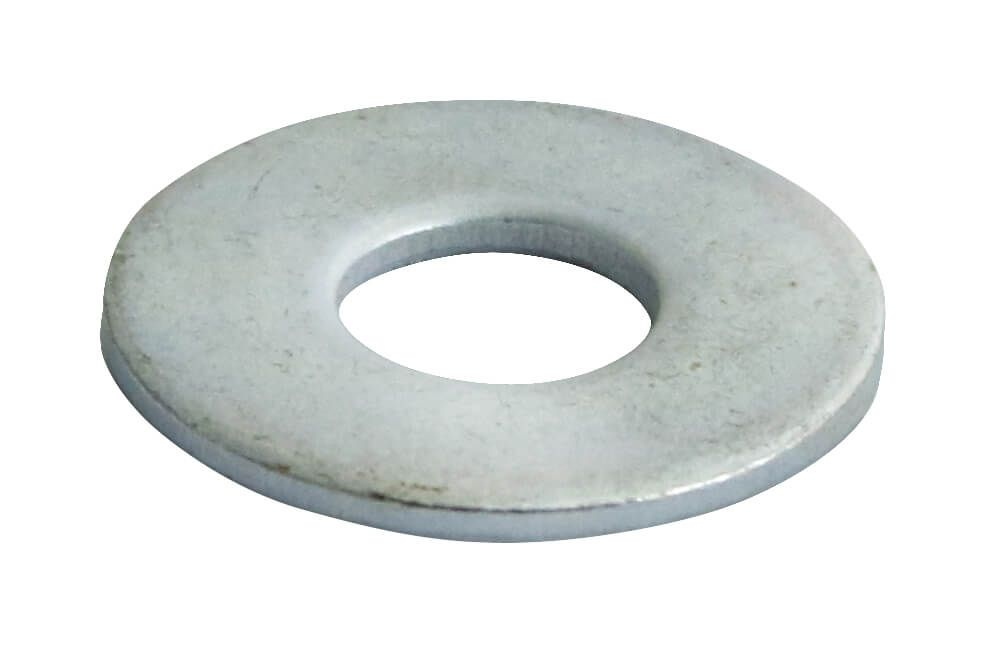 M8 - Flat Washer Form C BS 4320 - BZP - Pack of 500