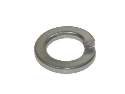 M8 - Spring Washer Rectangular Section Type B DIN 127 - A4 Stainless Steel - Pack of 200