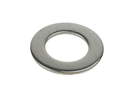 M8 - Flat Washer Form B BS 4320 - A2 Stainless Steel - Pack of 250