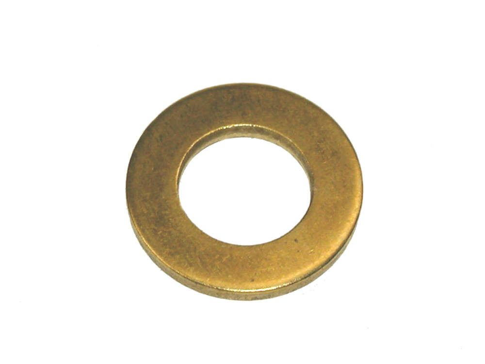 M8 - Flat Washer Form B BS 4320 - Brass - Pack of 100