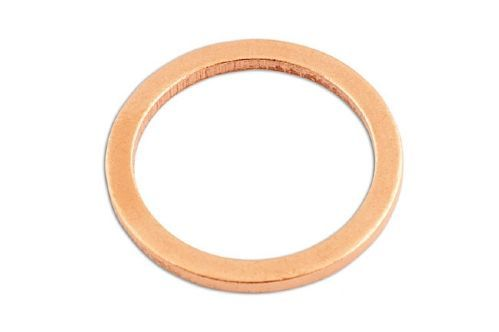 M10 - Flat Washer - Copper Sealing - Pack of 25